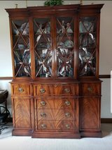 Antique mahogany  dining room set in Westmont, Illinois