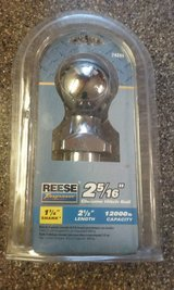 "New - Reese 2 5/16"" Chrome hitch ball in Joliet, Illinois"