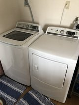 Media Washer and Dryer -9 months old- perfect brand new condition with 3 year warranty in Okinawa, Japan