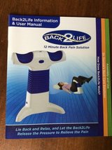 Back2Life Continuous Motion Lumbar Pain Relief Therapy Massager in Camp Lejeune, North Carolina