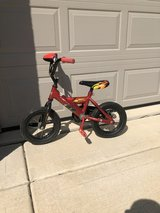 Kids Lighting McQueen bike in Joliet, Illinois