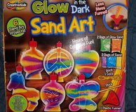 GLOW IN THE DARK SAND ART NEVER BEEN OPENED (LEAVENWORTH,KS) in Kansas City, Missouri