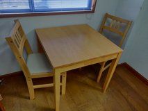 """Kitchen Table and Chair x2 (Table: 30"""" x 30"""") in Okinawa, Japan"""