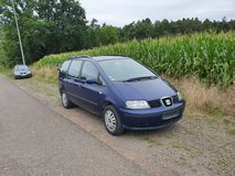 Seat ALHAMBRA 1.9 TDI MANUAL NEW INSPECTION ONLY 108.000 MILES 7 sids in Ramstein, Germany