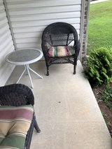 chair and table in Fort Leonard Wood, Missouri