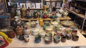 Pottery and Garage Sale in Naperville, Illinois
