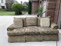 Couch with throw pillows in Westmont, Illinois