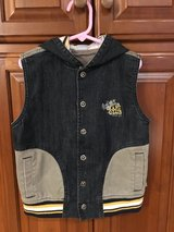 Boy Lined  Sleeveless  Hoodie in Naperville, Illinois