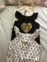 Juicy Couture Onesies 0-3m in Houston, Texas