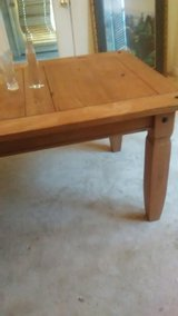 100% Pure Pine Dining Room Table Seats 6 in Fort Bragg, North Carolina