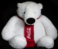 Coca Cola Polar Bear  (2.5 feet tall) in Ramstein, Germany