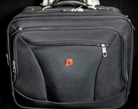 Small Swissgear 4-compartment carry-on with laptop pocket in Ramstein, Germany