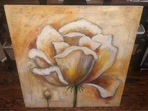 Flower Painting On Canvas 32x32 in Kingwood, Texas