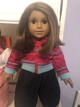 American Girl Doll w/sleeping bag in Chicago, Illinois
