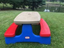 LITTLE TYKES KIDS PICNIC TABLE in Glendale Heights, Illinois