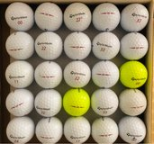 25 TaylorMade Project (a) used golf balls near mint condition in Glendale Heights, Illinois