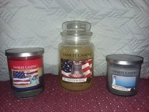 Brand new Yankee Candles in Fort Riley, Kansas