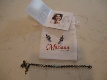 Mariana Petite Bracelet and Flower Dangle Earrings in Oswego, Illinois
