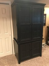 Distressed Black Armoire in Quantico, Virginia