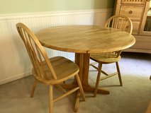 Table and 2 Chairs Set in Naperville, Illinois