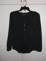 Junior Black & White Blouse in Naperville, Illinois