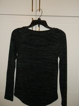 Grey & Black Long Sleeve Shirt in Plainfield, Illinois