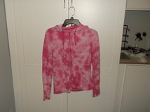 Tie Dye Lightweight Zipper Hoodie in Plainfield, Illinois