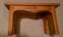 Wooden Foot BenchREDUCED PRICE in Houston, Texas