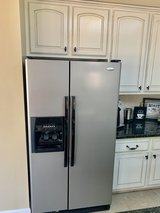 Whirlpool Refrigerator 25 cu Side by Side in Houston, Texas