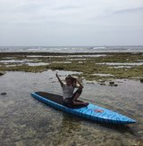 Stand-up Paddle Racer Board in Okinawa, Japan