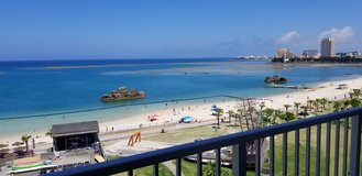 Chatan, Araha beach view apartment in Okinawa, Japan