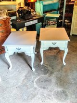 pair signed. ultra high end night stands end tables in Camp Lejeune, North Carolina