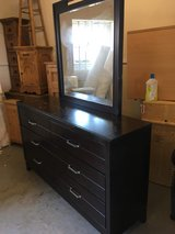 Large set of draws with mirror in Lakenheath, UK