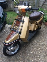 Vintage 1985 yamaha salient 50cc ,  12 months mot, only 3000 miles since new , px or swap in Lakenheath, UK
