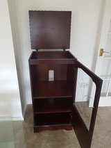 Mahogany hi-fi cabinet in Lakenheath, UK
