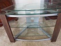 Quality Swivel top glass tv stand in Lakenheath, UK