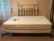 Serta medical adjustable / massage bed and frame in Glendale Heights, Illinois