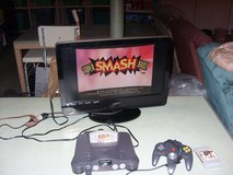 nintendo 64 with two games in Fort Knox, Kentucky