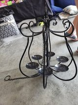 Black candelabra Great for outdoors gazebo in Fort Campbell, Kentucky