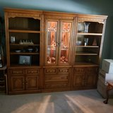 3 Piece Wall unit with storage below. in Algonquin, Illinois