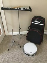 Pearl Student snare drum and bell kit set in Naperville, Illinois