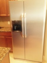 Stainless Steel refrigerator  - side by side in Houston, Texas