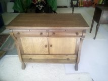 Antique Oak Serving Table in Kingwood, Texas