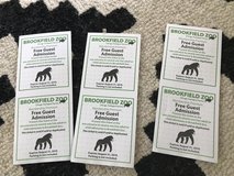 6 Brookfield Zoo tickets in Glendale Heights, Illinois