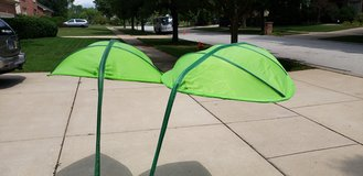 Pair of Ikea Lova Bed Canopy (Palm Leaves) in Glendale Heights, Illinois