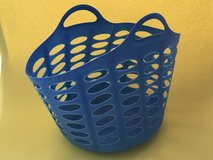 plastic shopping basket in Ramstein, Germany