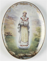 Our Lady of La Salette Collector Plate in Plainfield, Illinois