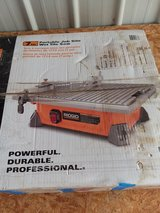 Ridgid wet tile saw in Alamogordo, New Mexico