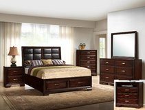 Storage Bedroom Suite Feature Full Extension Drawer glides in Kingwood, Texas
