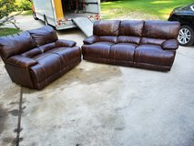 Reclining Couch With Love Seat! in Warner Robins, Georgia